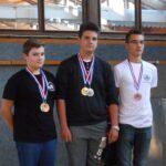 Mateo Cerin zlatna medalja kadeti zračna puška muški