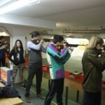 Strijelci streljačkog kluba rovinj u Puli na natjecanju