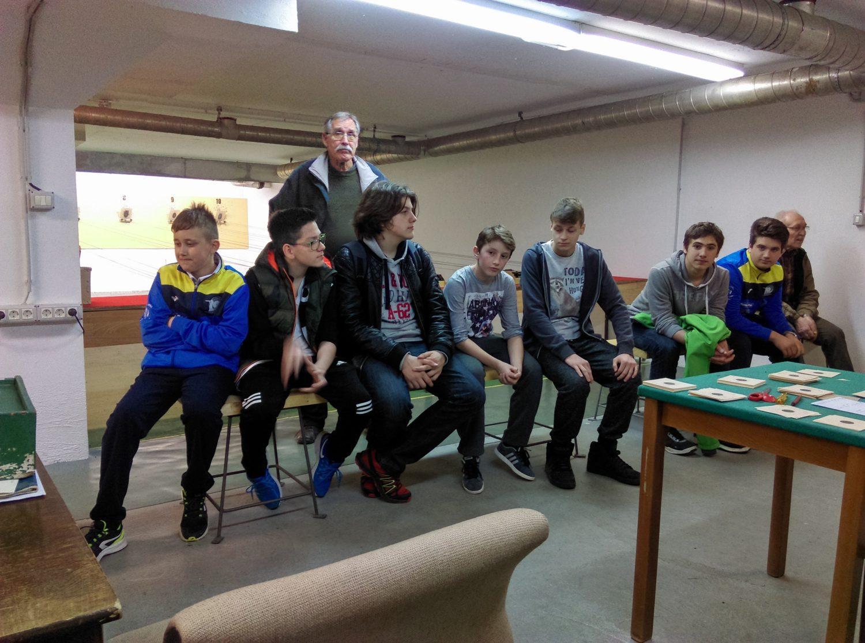 Ekipa streljačkog kluba rovinj u puli na natjecanju