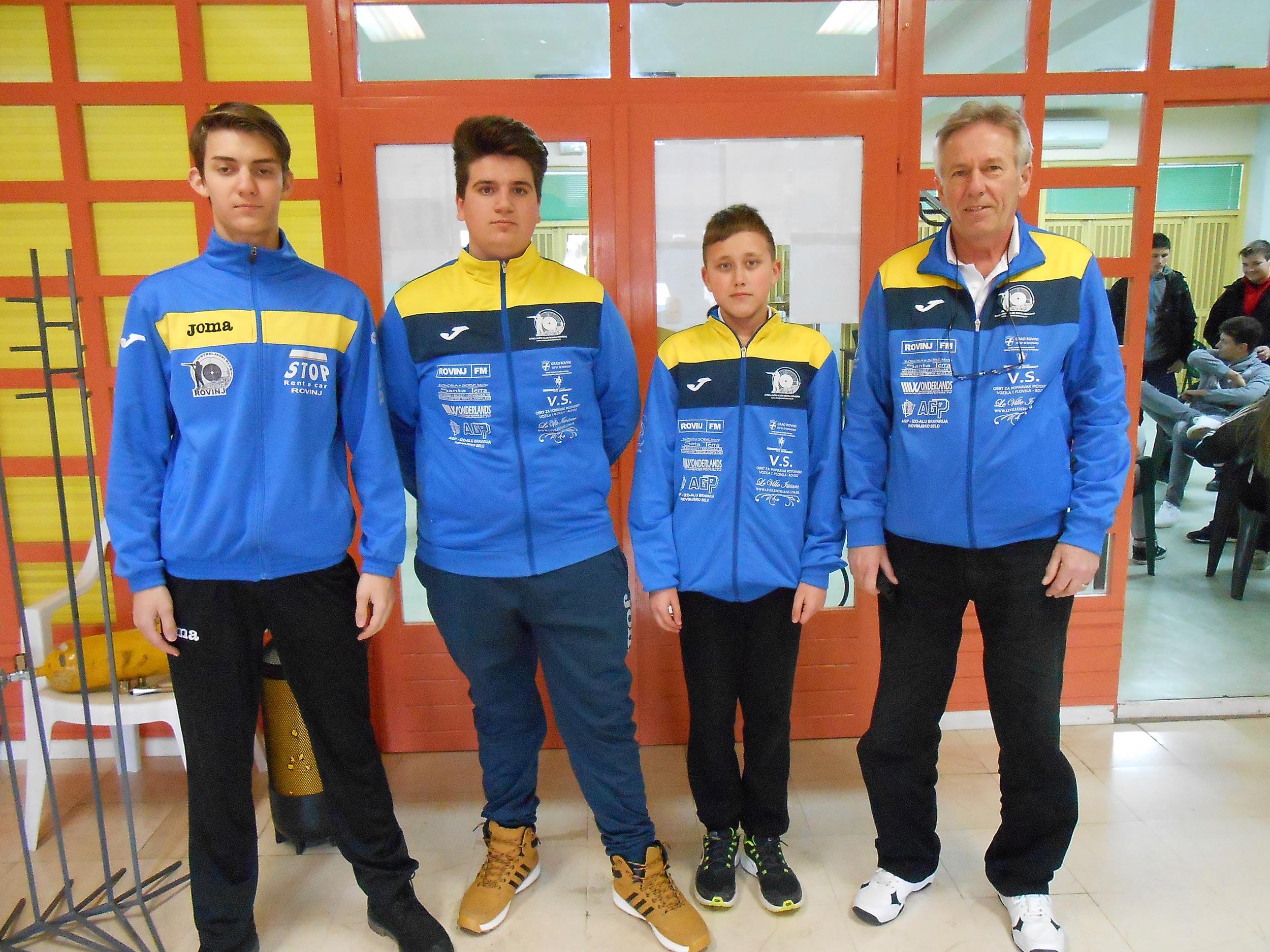 "3. Turnir ""Olimpijske nada"" Solin 24-25.02.2107 – juniori, mlađi juniori – Rekordi Cerin i Zaharija"