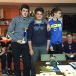 Matijević Marko, Nereo Cafolla i Mateo Cerin na polufinalu kupa hrvatske