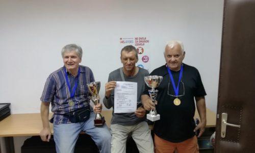 """Rovinjski veterani """"opet"""" prvi na Buzet Active – 6. Turinir pričuvnih časnika  31.08.2019"""