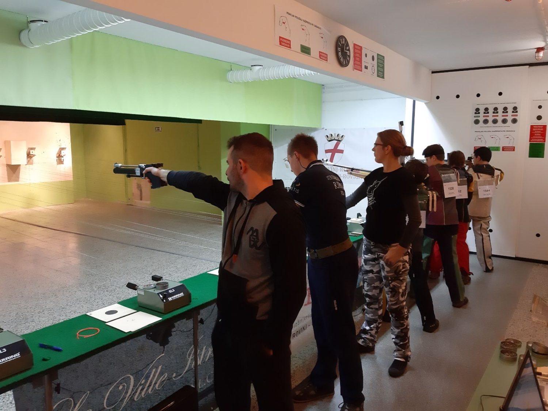 Strijelci streljačkog kluba rovinj na natjecanju 1.B Hrvatska Liga