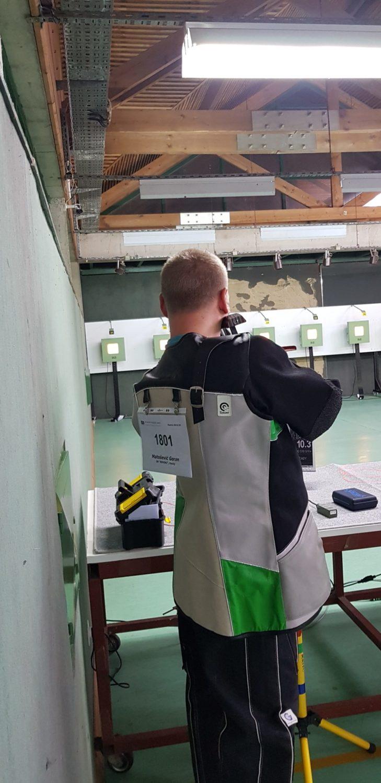Strijelac SK Rovinj na liniji Goran Matošević Rovinj-Rovigno streljaštvo