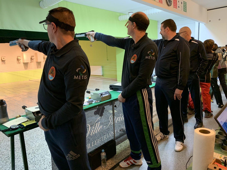 Drugo kolo 1.B Hrvatske Lige Rovinj strijelci Streljačkog kluba rovinj i streljačkog kluba rječina rijeka natjecanje u streljaštvu zračni pištolj