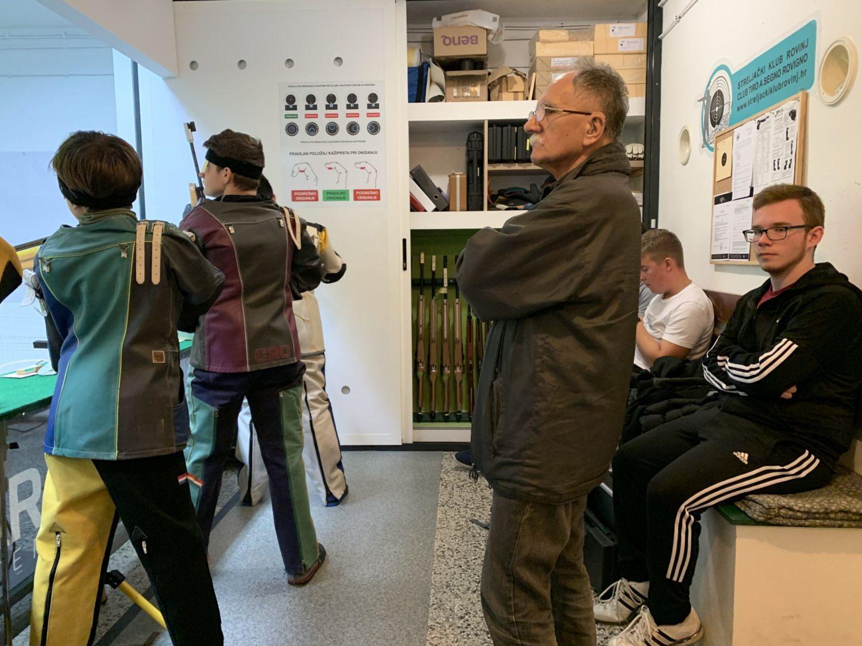 Natjecanje u sportskom streljaštvu zračni pištolj u Rovinju-Rovigno