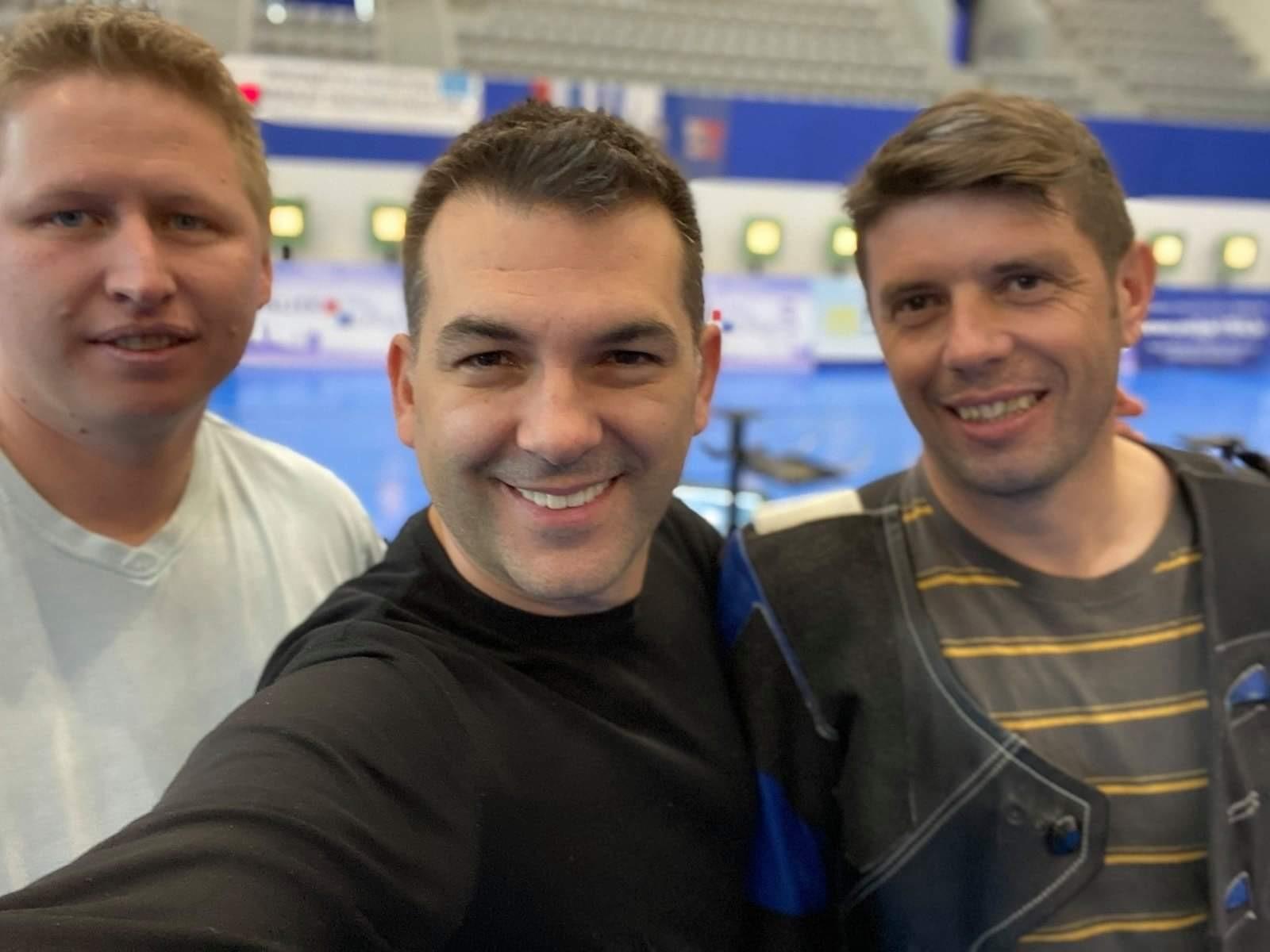 Goran Matošević, Ivica Vrkić i Franko Licul SK Rovinj