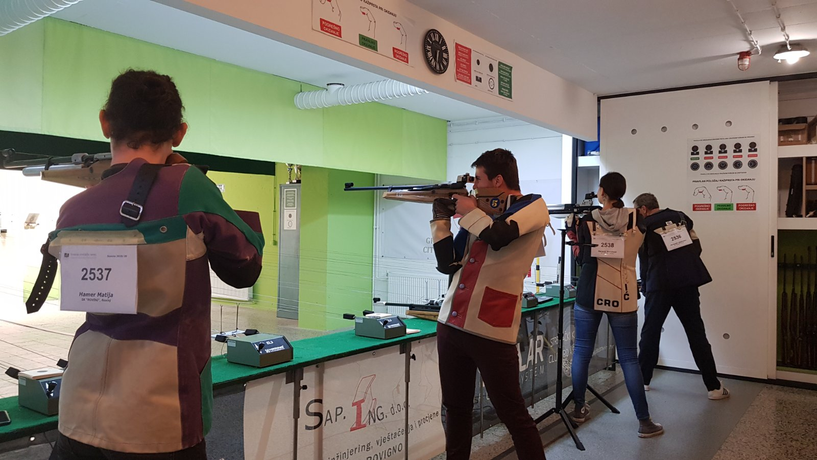 sportsko streljaštvo rovinj streljački klub rovinj
