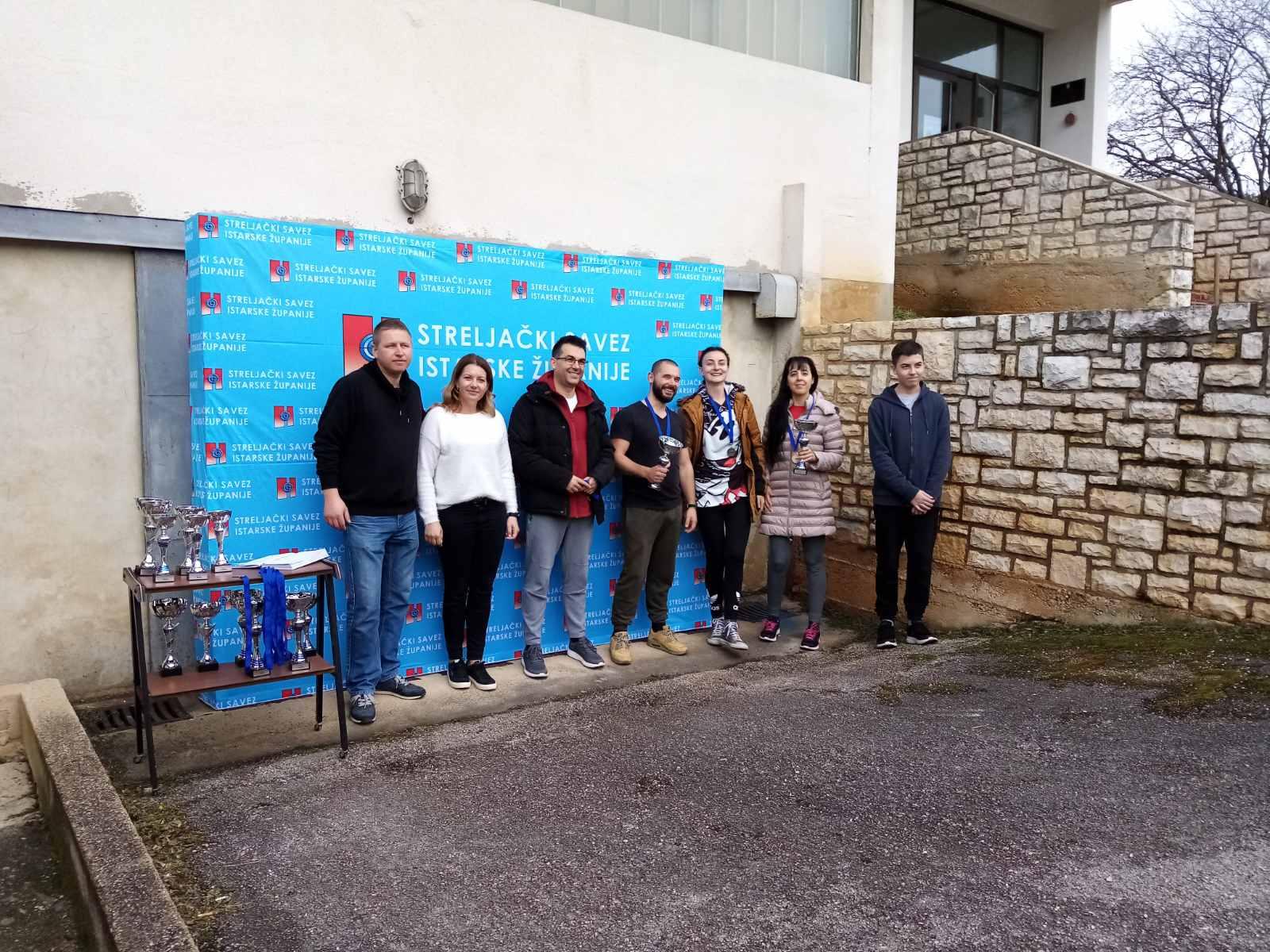 prvenstvo istarske županije juniori streljački klub rovinj proglašenje pobjednika