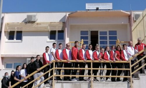 Strijelkinja SK Rovinja na pripremama EP reprezentacije u Solinu