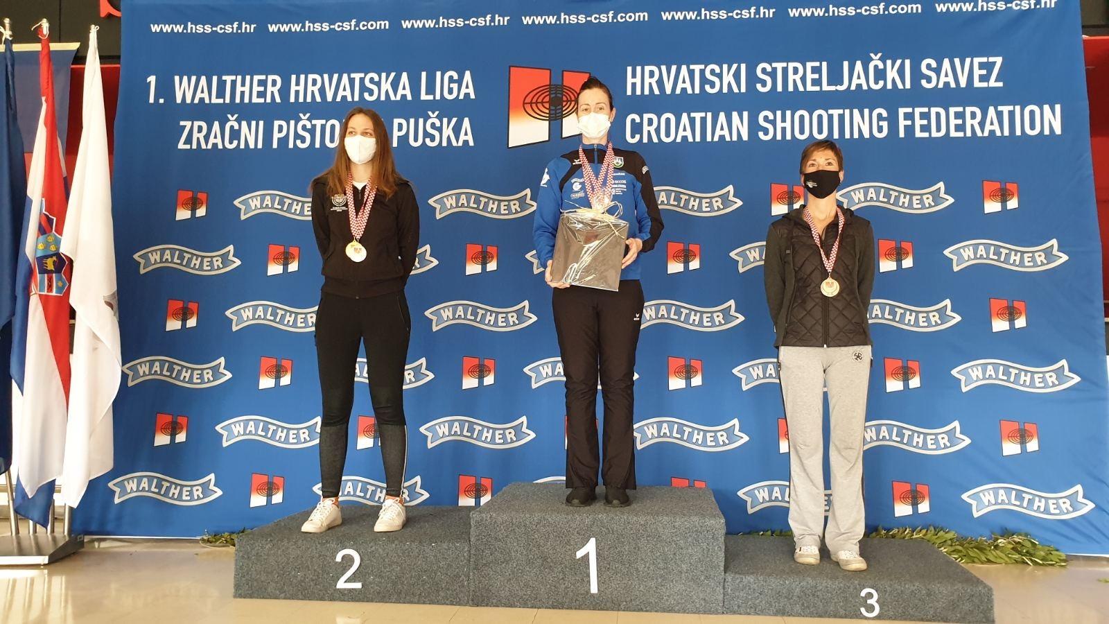 Zlatka Hlebec brončana na prvenstvu Hrvatske! Bravo Zlatka!
