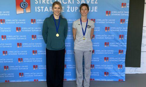 Na prvenstvu županije Zlatka Hlebec osvojila zlatnu medalju