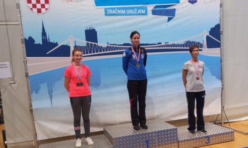 Zlatka Hlebec brončana na finalu kupa Hrvatske! Čestitamo!