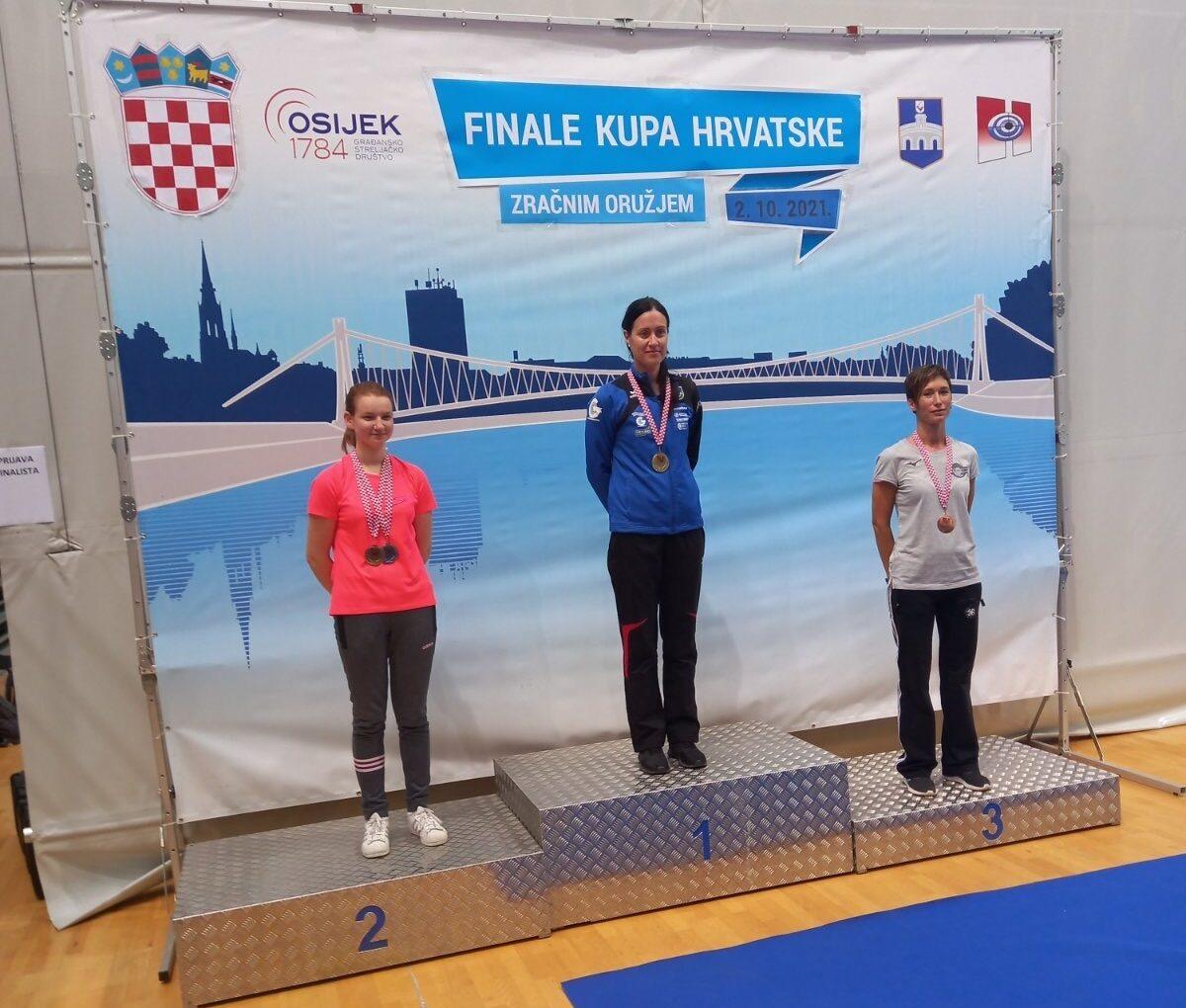 Zlatka brončana na Finalu kupa hrvatske